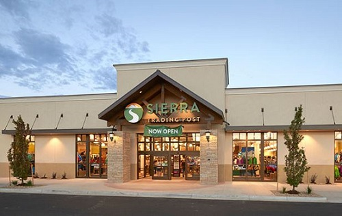 Sierra Trading Post is an online, brick-and-mortar, and catalog retailer of off-price merchandise operated by the TJX Companies. The Cheyenne, Wyoming -based company offers products in categories such as outdoor recreation, fitness and adventure gear, and apparel, .
